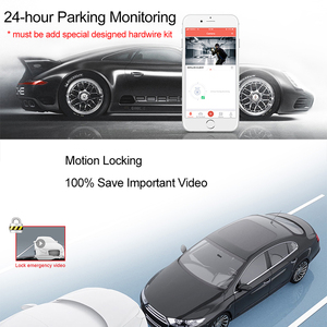 Image 4 - Mijia Mi DDPai Mini3 Dash Cam 32GB eMMC Built in Storage 1600P HD Recording 24H Parking Monitor