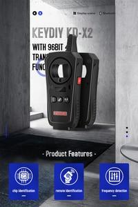 Image 5 - 2020 OBD2 키 프로그래머 도구 KEYDIY KD X2 자동차 키 차고 문 원격 kd x2 Generater/칩 리더/주파수 무료 배송