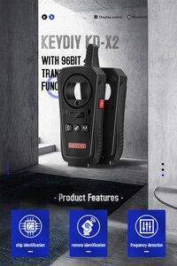 Image 5 - 2020 OBD2 Lập Trình Chìa Khóa Công Cụ KEYDIY KD X2 Chìa Khóa Xe Ô Tô Để Xe Cửa Từ Xa KD X2 Generater/Chip Đầu Đọc/Tần Số miễn phí vận chuyển