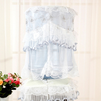 1 sztuk moda kraj kwiat śliwy koronki tkaniny dozownik do wody osłona przeciwpyłowa dozownik do wody pokrowiec z materiału pokrywa wiadro tanie i dobre opinie CN (pochodzenie) 482519 Europa 100 poliester Lace