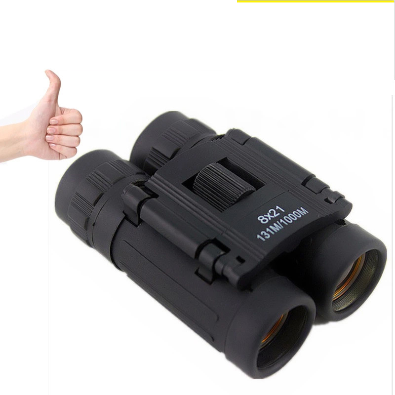 8X21 Binoculars Monocular Telescope 8x Magnification Eyeglasses Kid Play Telescopio Binoculars Binoculars Kids Telescope in Monocular Binoculars from Sports Entertainment