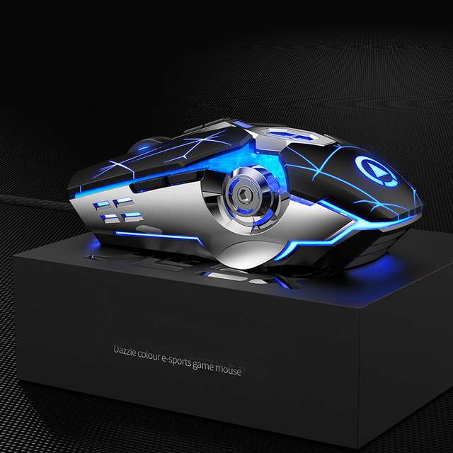 Professional Wired Gaming Mouse 6 Button 3200DPI LED Optical USB Computer Mouse Game Mice Silent Mouse Mause For PC laptop Gamer 3