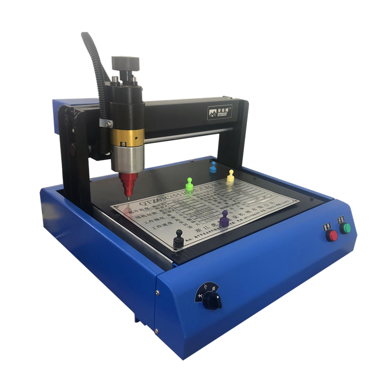 2015 3020 Metal Marking Machine Printer Nameplate Cutting Plotter Code Machine Electric Marking Machine Engraving Machine