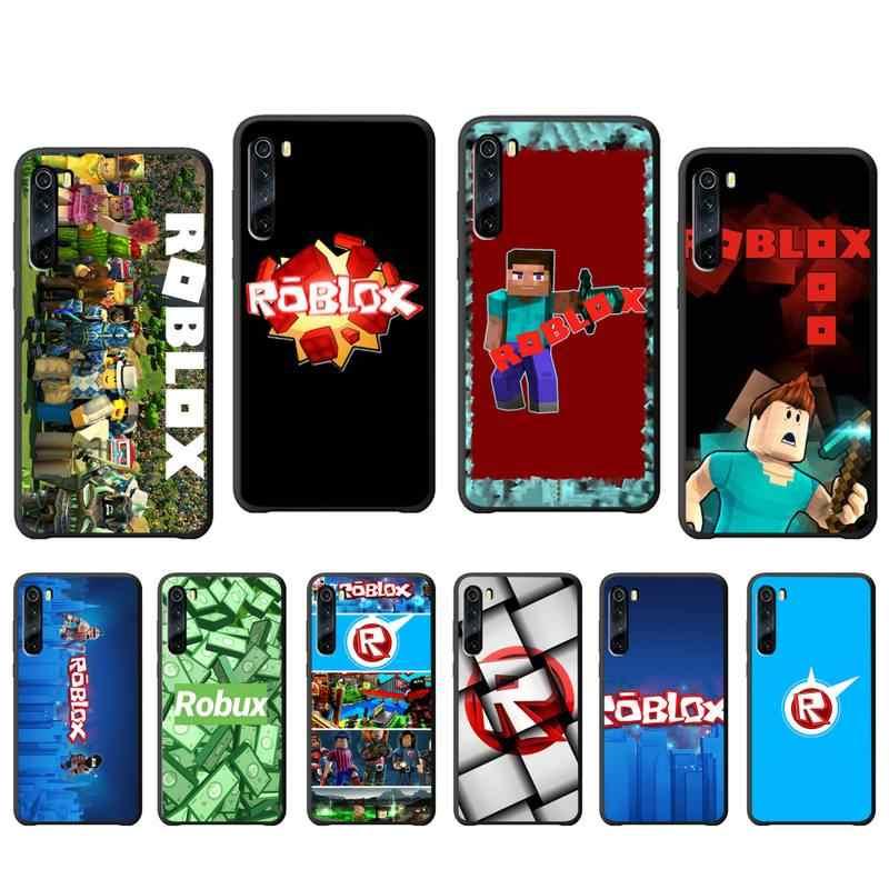 Yinuoda Game Robloxes Luxe Telefoon Case Etui Voor Xiaomi Redmi 7 7A 8 Note 7 8 9 8T 8 pro Siliconen Gevallen Cover