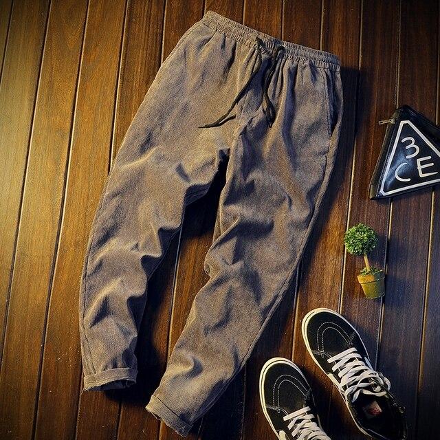 Pantalones largos populares para hombre, ropa informal a la moda, para otoño e invierno, MW44, venta al por mayor, 2019 2