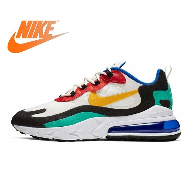 Nike Air Max 270 réagir nouveauté hommes chaussures de course coussin d'air Sports de plein Air baskets confortables AO4971