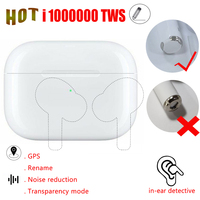 Heißer i1000000 TWS Bluetooth Kopfhörer V3 Air Pro Squeeze sensor Noise Reduction Drahtlose Ohrhörer PK AP PRO i9000 i200000 Pro tws-in Handy-Ohrhörer und Kopfhörer Bluetooth aus Verbraucherelektronik bei
