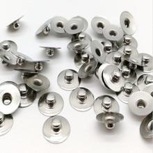 2000 مجموعات/وحدة الطبية ECG المفاجئة محطة العلاج الطبيعي ECG أجزاء الذكور جزء أسفل مسمار من كلوريد الفضة مع ABS