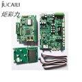 Комплект печатной платы Jucaili one set для Epson xp600/DX5/DX7  плата каретки с одной головкой  основная плата для принтера с растворителем