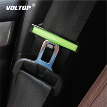 2pcs Safety Belt Clip Seat Pad Buckle Car Accessories Stopper Tension Adjuster for Auto 53mm