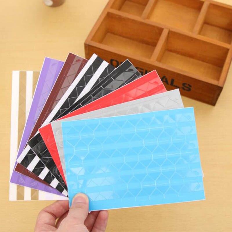 102pcs in Set Self Adhesive Photo Album Frame Corner Stickers Scrapbooking s