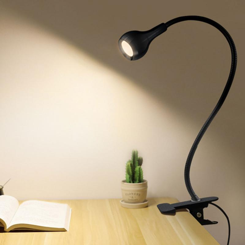 USB Night Light Computer Lamp Low Power Consumption Notebook Eye Protection Reading Table Lamp Table Lamp Clip Lamp Desk Light