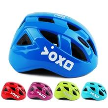 Цветной ультра-легкий Детский велосипедный защитный шлем головной убор 14 вентиляционных отверстий Детский скейтборд Катание на коньках езда на велосипеде шлем Capacete