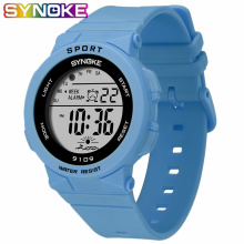 SYNOKE Fashion 50M Waterproof Students Kids Watches Children Boys Girl