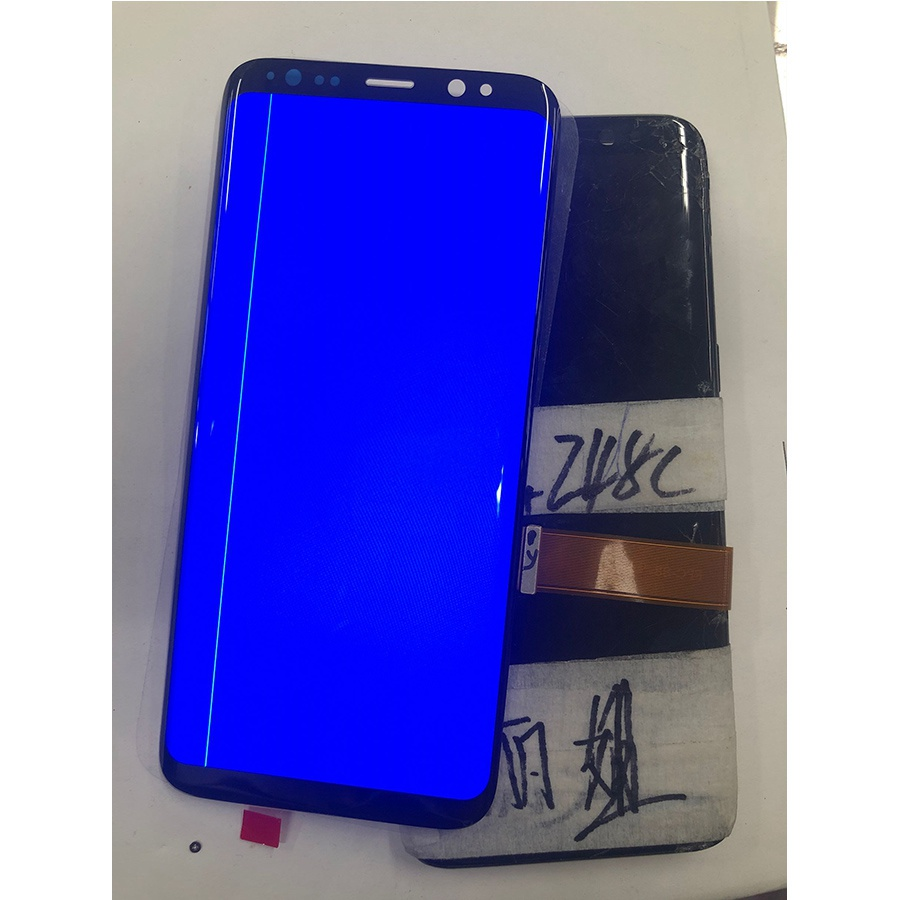 AMOLED With Line <font><b>S8</b></font> Plus Replacement For SAMSUNG <font><b>Galaxy</b></font> S9 S9+LCD Touch Screen Digitizer With black spots Line G960 G965 <font><b>Display</b></font> image