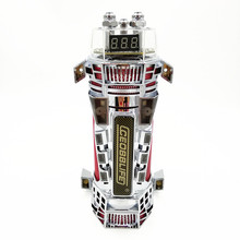2021 New 4.0 Farad Super Capacitor For Car Audio Modified Subwoofer With LED Colorful Lights Voltage Display Red Net Shell