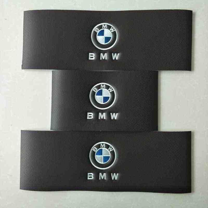 Tapis de sol de voiture avec Logo/Logo de marque pour Mercedes Benz A B180 C200 E260 CLA G GLK300 ML ligne de tapis anti-dérapant en cuir pour voiture