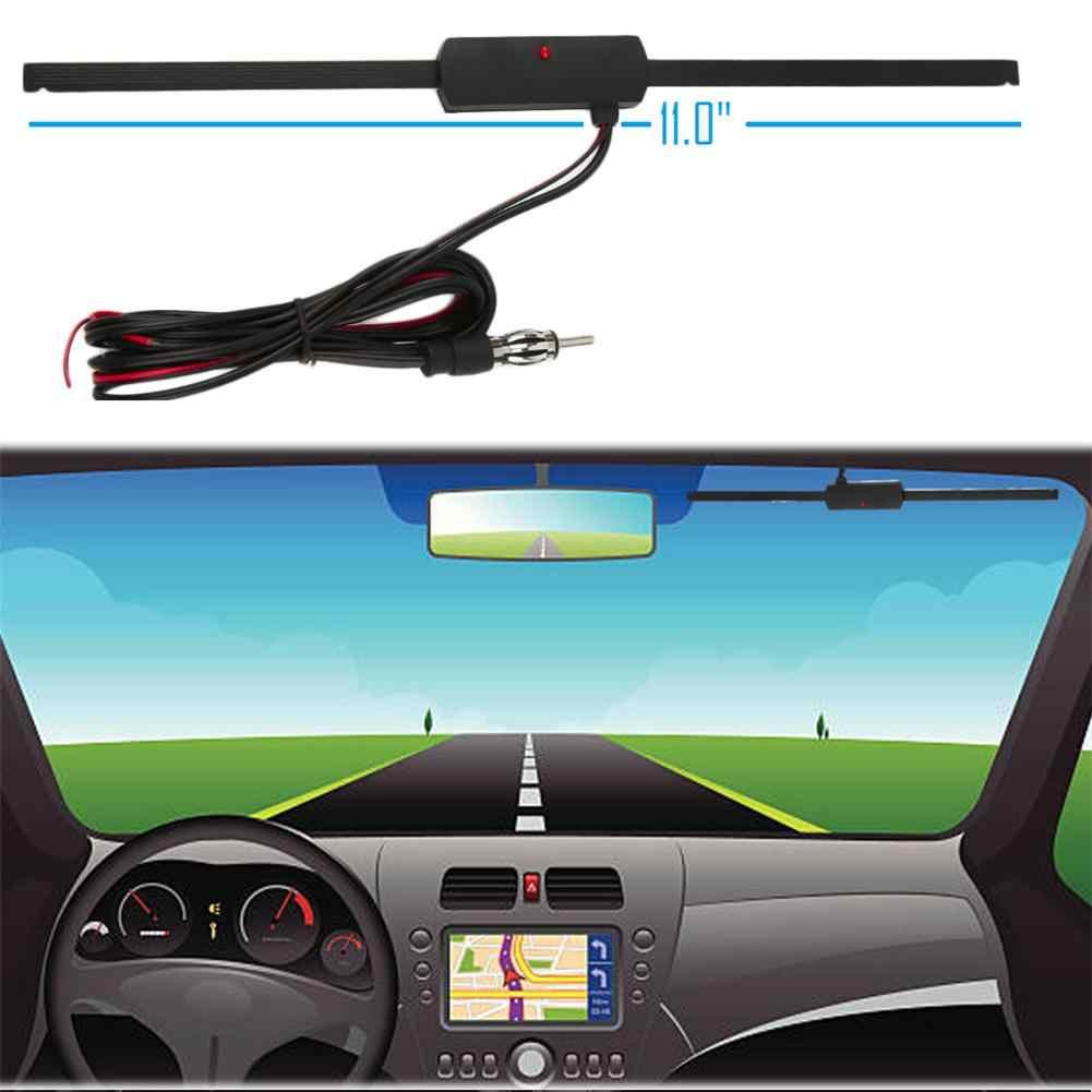 Yeni Araba Anten 12V AM/FM Radyo Anteni sinyal amplifikatörü Güçlendirici Evrensel Araçlar Için Golf Arabaları Tekneler Motosiklet ATV