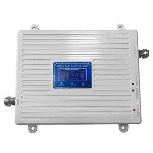 Image 5 - DCS 1800 WCDMA UMTS 2100 ثنائي النطاق هاتف محمول مكرر إشارة الخلوية مكبر للصوت الهاتف المحمول إشارة معززة ل 2g 3g 4g