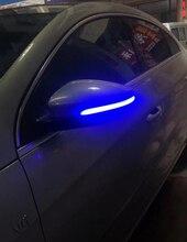 לvwgolf 6 גולף 6 MK6 GTI6 Rline דינמי נצנץ צד מראה חיווי עבור R20 LED להפוך אות אור טוראן בורה פאסאט צווארון