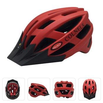 COLNELS-casco de ciclismo para hombre y mujer, protector de cabeza para bicicleta,...