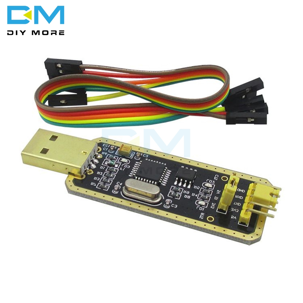 Diymore FT232 FT232BL FT232RL FTDI  USB 2.0 To TTL Download Cable Jumper Serial Adapter Module For Arduino Suport Win10 5V 3.3V