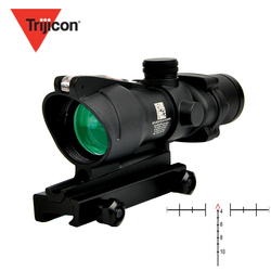 Trijicon ACOG 4X32 Fiber Source Optic Scope Riflescope Red Dot Illuminated Etched Reticle Tactical Optical Sight For Hunting