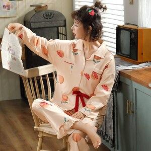 Image 3 - BZEL sıcak satış gecelik kadın pijama setleri karikatür pijama takım elbise sevimli kadın kıyafeti iç çamaşırı artı boyutu Pijamas pijama XXXL