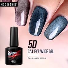 Leafu Modelones 5D кошачьи глаза УФ-гель для ногтей Хамелеон Magentic Led гель лак для ногтей нужен магнит палочка Полупостоянный светодиодный гель