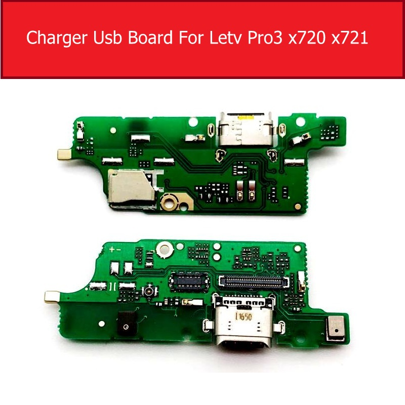 Microphone Charger Board For LeTV LeEco Le Pro3 Pro 3 X722 X727 X720 X721 USB Charging Jack Dock Connector Board Module