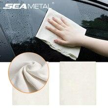 Accessori per asciugamani per Auto asciugamano per pulizia automatica morbido asciugamani in pelle scamosciata di pecora asciugamani multifunzionali interni bagnati e asciutti prodotti per stracci puliti allaperto