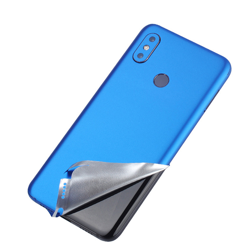 Top Sell Body Candy Color Decal Sticker Wrap Skin <font><b>Case</b></font> Cover For Xiaomi mi6 mi6X mi8 <font><b>8SE</b></font> Xiaomi Note3 Ice Film Protector Styling image