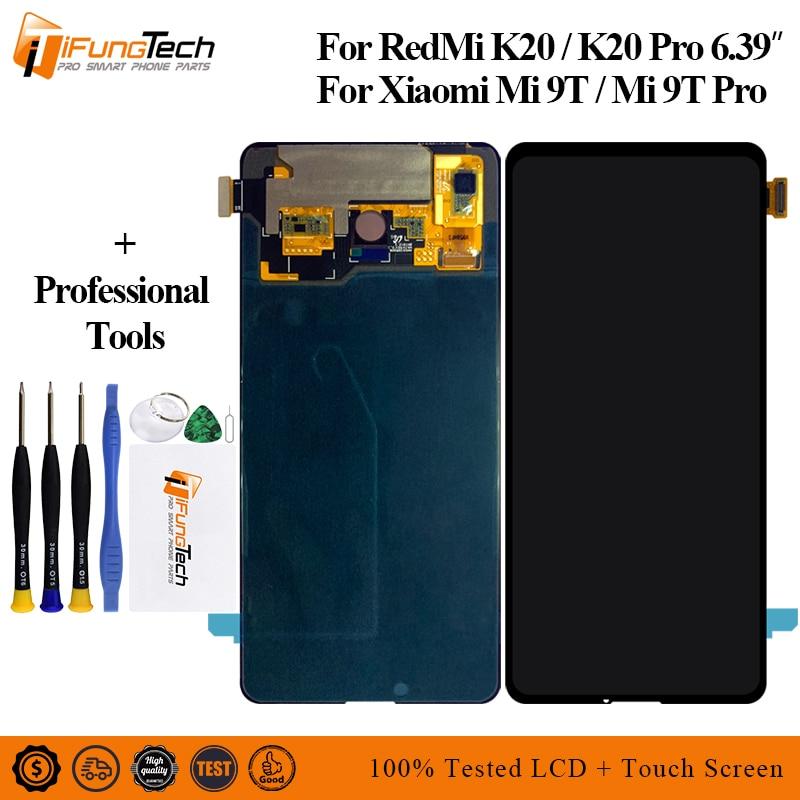 AMOlED Original pour Xiao mi rouge mi K20 Pro LCD mi 9T Pro affichage écran tactile numériseur assemblée réparation pour rouge mi K20 LCD mi 9T