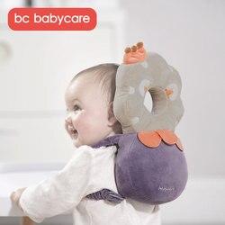 BC Babycare, хлопковая детская подушка для защиты головы, Регулируемая мягкая подушка для малышей, защитная подушка для малышей, безопасный уход ...