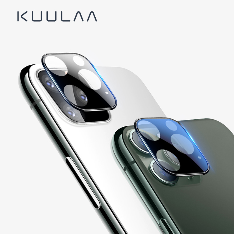 KUULAA Camera Lens Protector For IPhone 11 Pro Max HD Clear Camera Tempered Glass For IPhone 11pro Seamless Covering