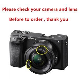 Image 2 - Metal Lens Hood Sony A6600 A6500 A6400 A6300 A6100 A6000 A5100 A5000 NEX 6 NEX 5T NEX 5N NEX 3N NEX 5R ile 16 50mm lens