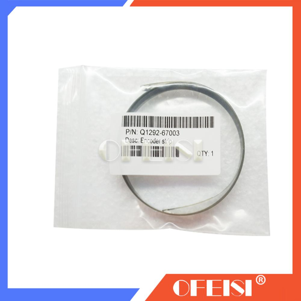 10PCX new good quattily for <font><b>HP100</b></font> 110 120 130 Encoder strip on sale Q1292-67003 plotter part on sale image