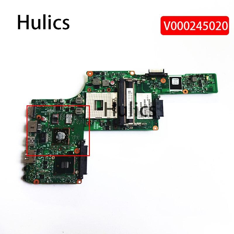 Материнская плата Hulics V000245020 6050A2338501 s989 для ноутбука toshiba satellite L630, материнская плата