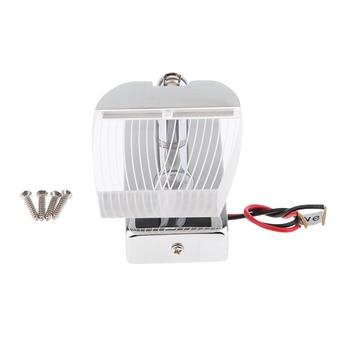 2x RV 12/24V LED Reading Light 3W Warm White Dimmer Touch Button for Boat Caravan Motorhome Aluminum Swivel Reading Lamp