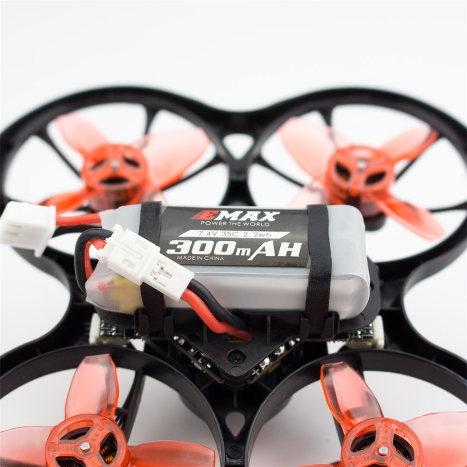 2S <font><b>7.4V</b></font> 35C <font><b>300mah</b></font> Lipo <font><b>Battery</b></font> for Emax Tinyhawk S <font><b>Battery</b></font> FPV Racing Drone Parts image