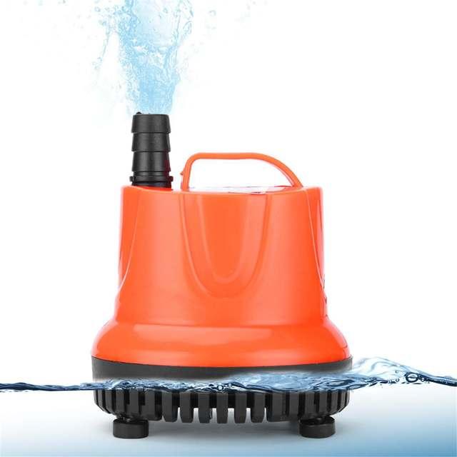 30/45/60/85/110W Aquarium - Fish Pond Pump Ultra-Quiet Submersible  3