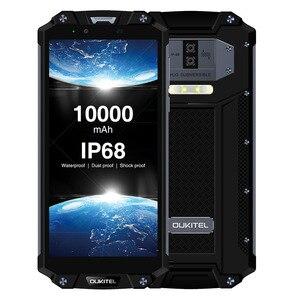 "Image 4 - OUKITEL WP2 10000mAh IP68 Waterproof Dust Shock Proof Mobile Phone Octa Core 4GB 64GB MT6750T 6.0"" 18:9 Fingerprint Smartphone"