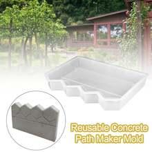 Многоразовые формы для изготовления бетонных дорожек сада патио