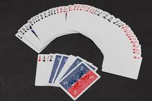 1 szt. 52 odcienie czerwonej sztuczki Shin specjalne karty do gry w karty rekwizyty magiczne sztuczki sztuczki bliska magia