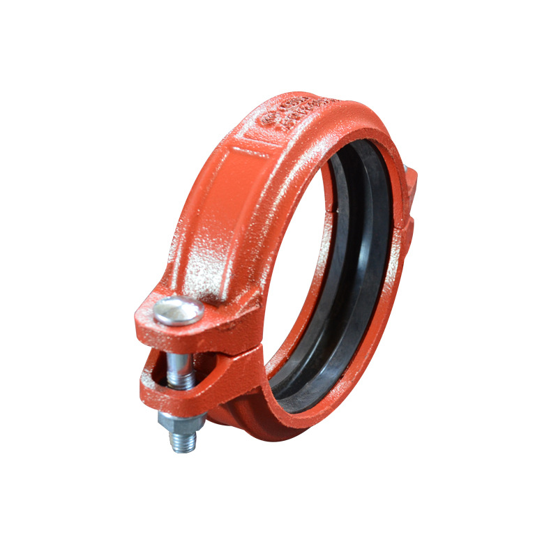 Groove Accessories Clamp DN100 DN150 Manufacturers Supply Of Goods Groove Pipe Fitting Steel Clip 150 Steel Clip 114