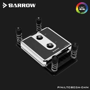 Image 4 - Barrow LTCP03A 04N, Per Ryzen AM3/AM4 Composito CPU Blocchi di Acqua, vestiti da POM/barss Top Opzionale, LRC 2.0 5v 3pin, Microwaterway Blocco