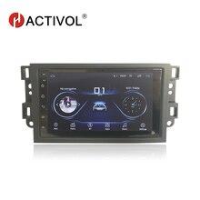 Hactivol 2 din araba aksesuarları araba radyo için Chevrolet Lova Captiva Gentra Aveo Epica 2006 2011 araba DVD OYNATICI gps ar sticker