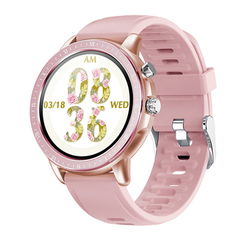 RUNDOING New Smart Watch S02 Women Men  Full Touch Screen Heart Rate Monitor Fitness Tracker Smartwatch For ios and android 7