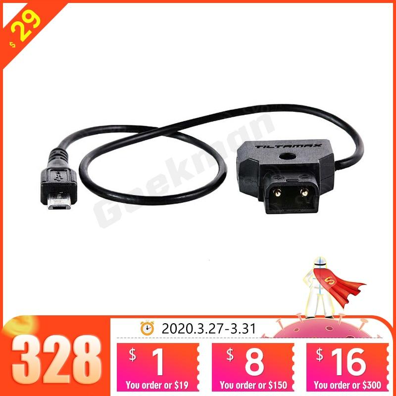 Tilta Micro USB to P-TAP Nucleus-Nano Motor Power Cable