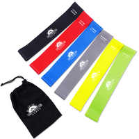 Resistance Loop Exercise Bands Set Expander Latex Rubber Mini Band Yoga Pilates Training Fitness Workouts Crossfit Gym Equipment